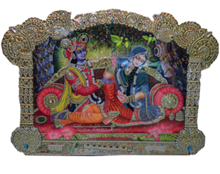 Radha-Krishna-Cutting-Painting
