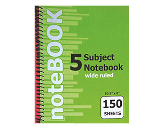 5-Subject-Notebook-150-Sheets