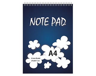 A4-Reporter-Note-Pad