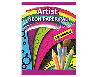 Neon-Paper-Pad-30-Sheets